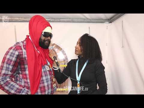 Videointerview, Fantan Mojah @ Reggae Jam 2014, 01.-03.08. Bersenbrück