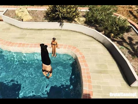 GTA 5 BRUTAL COMPILATION (Grand Theft Auto V Micheal kill family/Funny/Thug life)