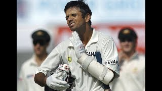 Rahul Dravid - 5 Epic Battles You Have Forgotten