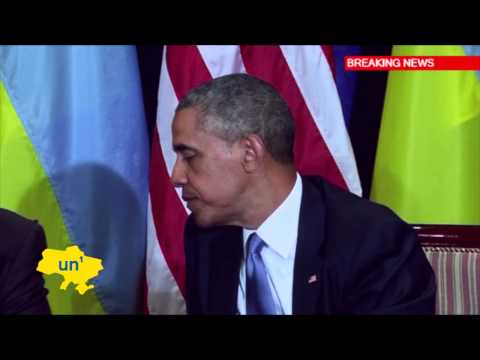 Obama Backs Poroshenko: Ukraine's president-elect discusses Russia threat with US President
