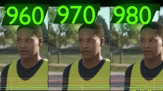 "FIFA 17 "" THE JOURNEY"" GTX 980 vs GTX 970 vs GTX 960"