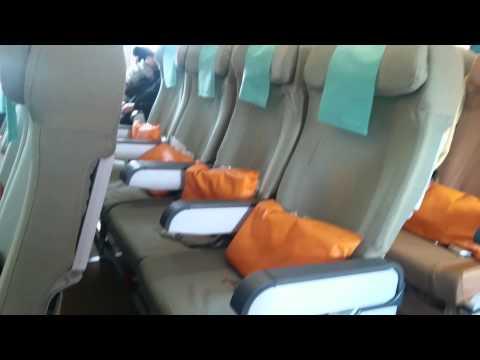 Sri Lankan Airlines Economy class