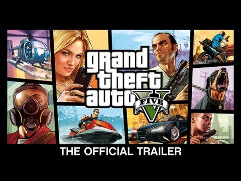 Grand Theft Auto V - The Official Trailer