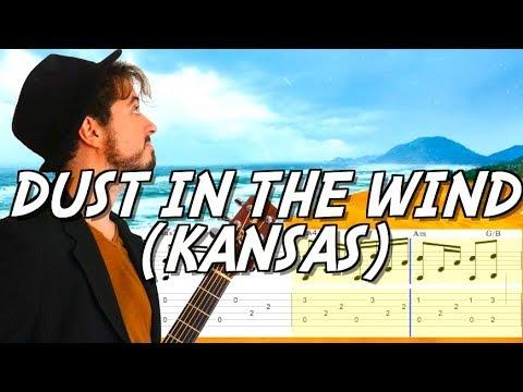 Dust in the wind (Kansas) - Tuto guitare acoustique morceau mythique
