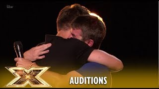 Anthony Russell RETURNS And Louis Tomlinson In TEARS! Emotional! | The X Factor UK 2018