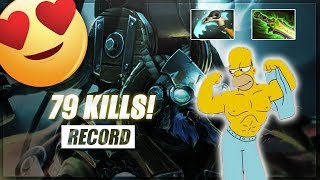 Dota Record! Tinker 79 kills! | Dota 2 Highlights