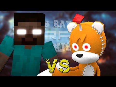 Herobrine vs Tails Doll. Épicas Batallas de Rap del Frikismo ¡Bonus!   Keyblade