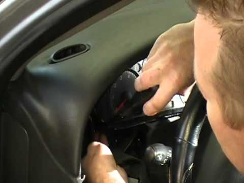 FORD TAURUS / MERCURY SABLE INSTRUMENT CLUSTER REMOVAL PROCEDURE BY: CLUSTER FIX
