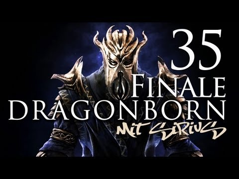 Let´s play SKYRIM Dragonborn - FINALE Part 35 [Xbox 360][1080p]
