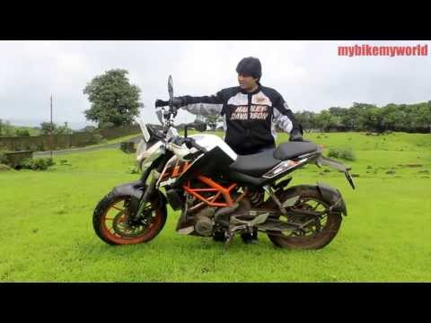 KTM 390 - Road Test Ride