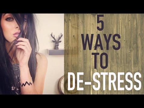 5 WAYS TO DE-STRESS | Brittany Balyn