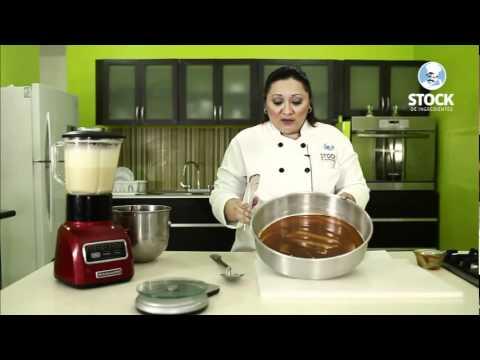 Tutorial de cómo hacer el Pastel Imposible - Chocoflan - Stock de Ingredientes