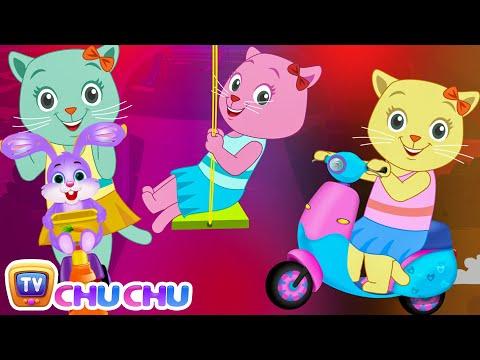 Three Little Kittens Went To The Park - (NEW Cutians) | ChuChu TV Baby Nursery Rhymes & Kids Songs