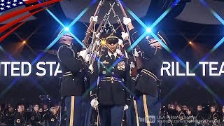 U.S. Army Drill Team Awesome Performs - Celebrating America's Army 2018