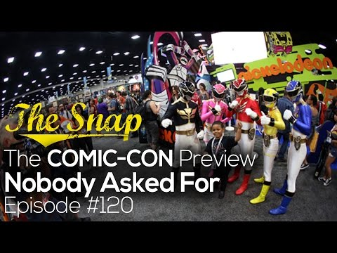 The 2014 Comic-Con Preview Nobody Asked For, But the One We Deserve | The Snap #120