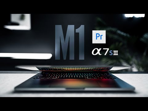 M1 MacBook Pro Premiere Pro (Beta) A7SIII Footage TESTED