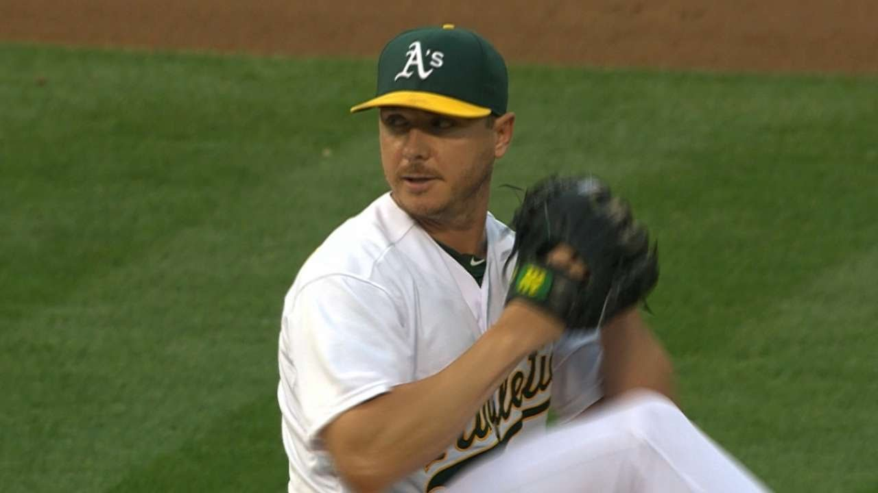 SEA@OAK: Kazmir hurls eight scoreless frames in win
