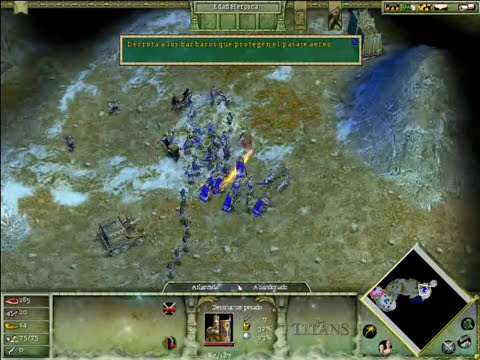 Age of Mythology the Titans Mision 1 - 1/2.
