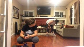EWWE TOBY FARTS!? Little dog farts and smells his butt!! #Dance #DogFart #Gross