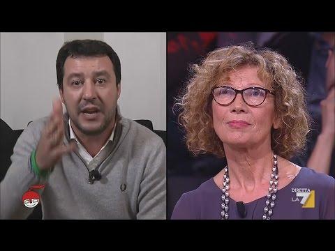 "SALVINI ASFALTA PROFESSORESSA ""DEMOCRATICA"" TERZOMONDISTA"