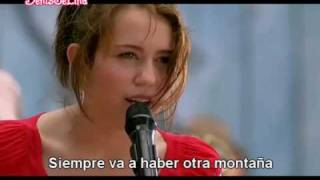 Miley Cyrus - The Climb (En Español) HQ