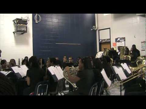 North Clayton High School Symphonic Band - Carol of the Bells