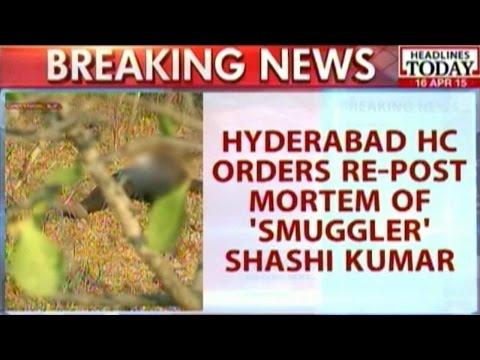 Hyderabad HC Orders Re-Post Mortem Of Alleged Red Sanders Smuggler