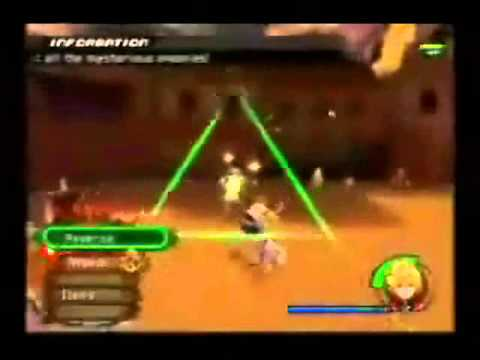Kingdom Hearts 2 - Axel  vs  Roxas Twilight town - Dublado