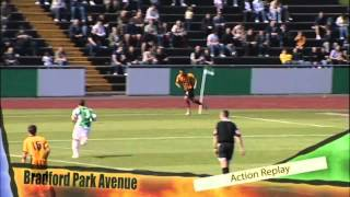 Bradford Park Avenue v Bradford City 19th July 2008