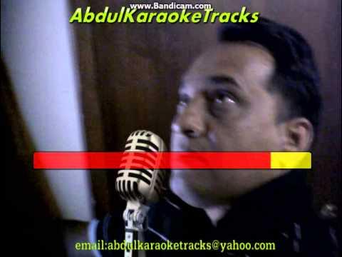 Mere Mehboob Mere karaoke