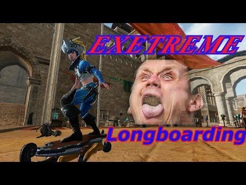 ArcheAge Shorts: Longboard Fail