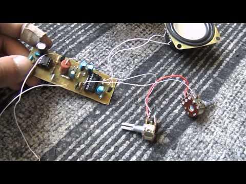 Металлоискатель из радиоприёмника своими руками