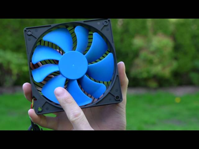 Silverstone AP-123 Fan Unboxing & Overview