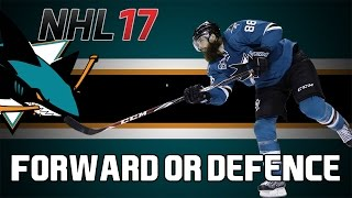 NHL 17 HUT: Brent Burns I Forward Or Defenceman?