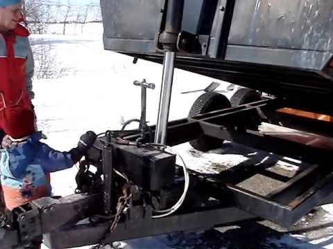 Remorque Benne Basculante Dump Trailer Vendue YouTube