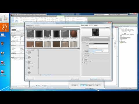 Revit 2012 avanzado Cap 7 Materiales propios.mp4