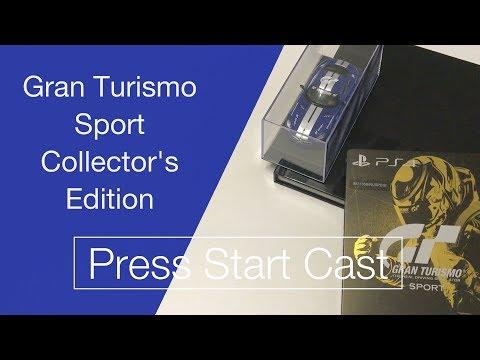 Распаковка коллекционного издания Gran Turismo Sport
