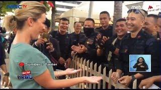 Viral Video Polisi Penjaga Demo di Bawaslu Main Sulap dengan Reporter Australia - LIS 24/05