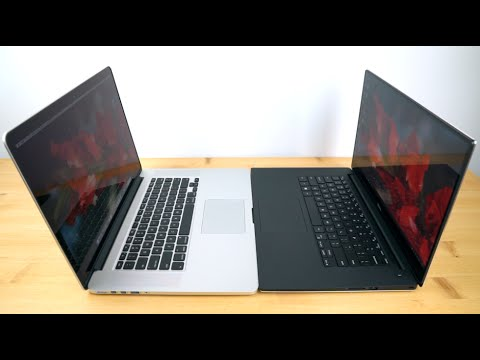 Dell XPS 15 Infinity vs.  Retina MacBook Pro 15 mid 2015 Comparison Smackdown