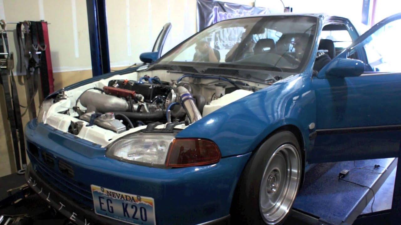 Honda Civic K20 Turbo Awd K20 Turbo Civic Hatch Dyno