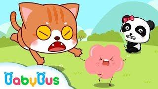 ♬ Icky Sticky Bubble Gum | 经典英文儿歌 | 幼儿动画童谣 | 宝宝巴士