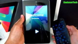 New Nexus 7 Unboxing - Pure Google Asus Tablet quad core Android 4.1 Jelly Bean