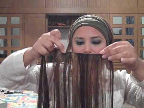 GabyTips 59 como ponerte las extensiones de cabello-How to attach hair extensions