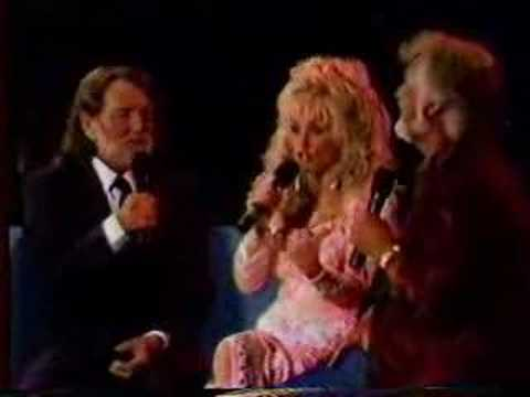 Kenny Rogers/Dolly Parton/Willie Nelson Live Medley Music Videos