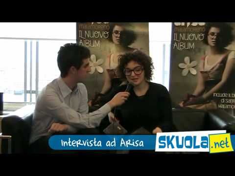 Arisa si racconta su Skuola.net