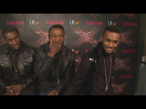 Rough Copy X Factor Interview: Boys Want One Direction Route To Fame video