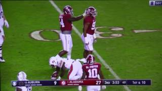 Alabama vs Auburn 2016 Highlights (Iron Bowl)