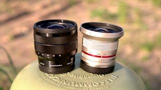Rokinon 12mm vs Sony 10-18mm Comparison