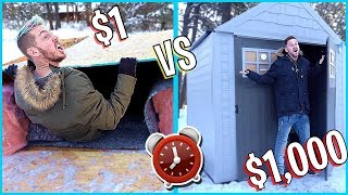 OVERNIGHT SURVIVAL CHALLENGE *HOME DEPOT ITEMS ONLY*