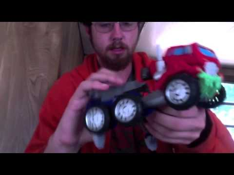 Transformers Prime Beast Hunters Voyager Class Optimus Prime Review